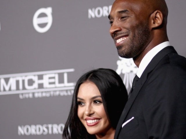 Vanessa Bryant Posts Uplifting Nat King Cole Lyrics While Posing With Mural of Kobe and Gianna
