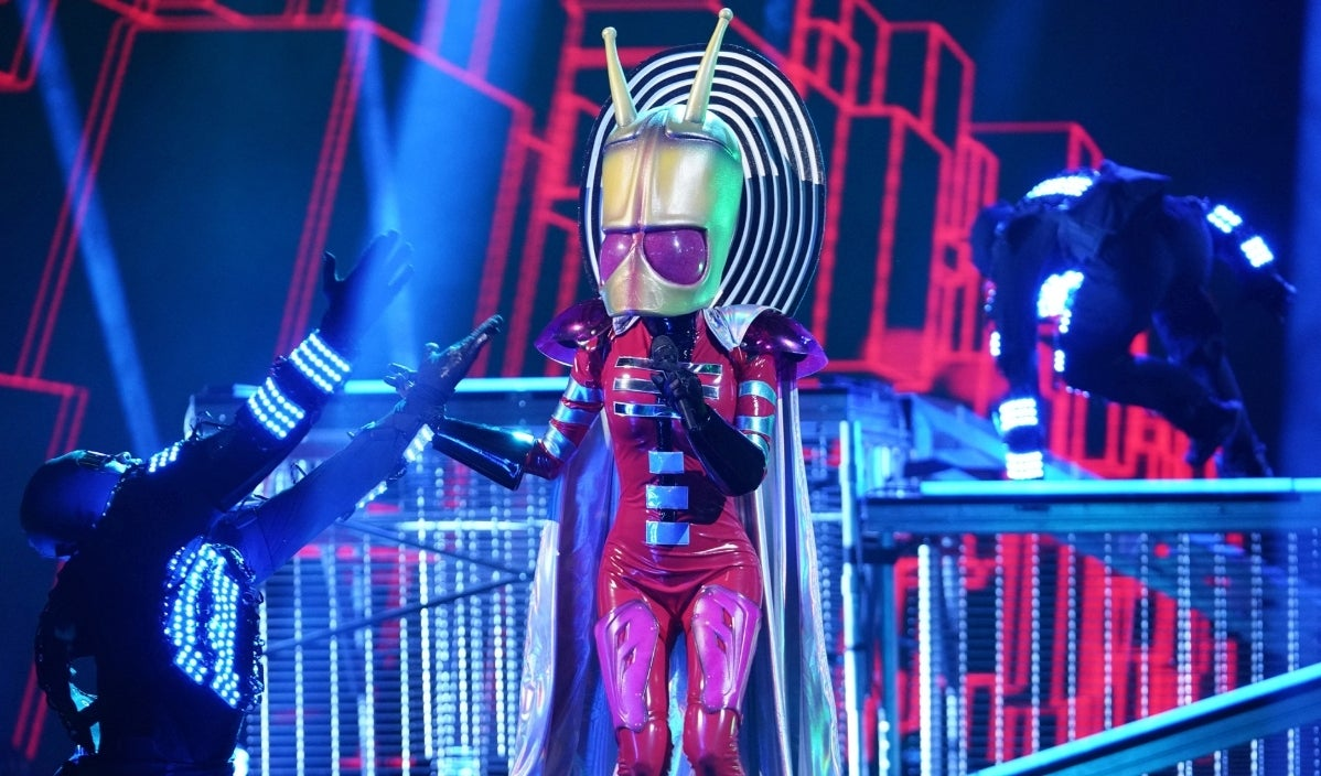 Masked Singer alien