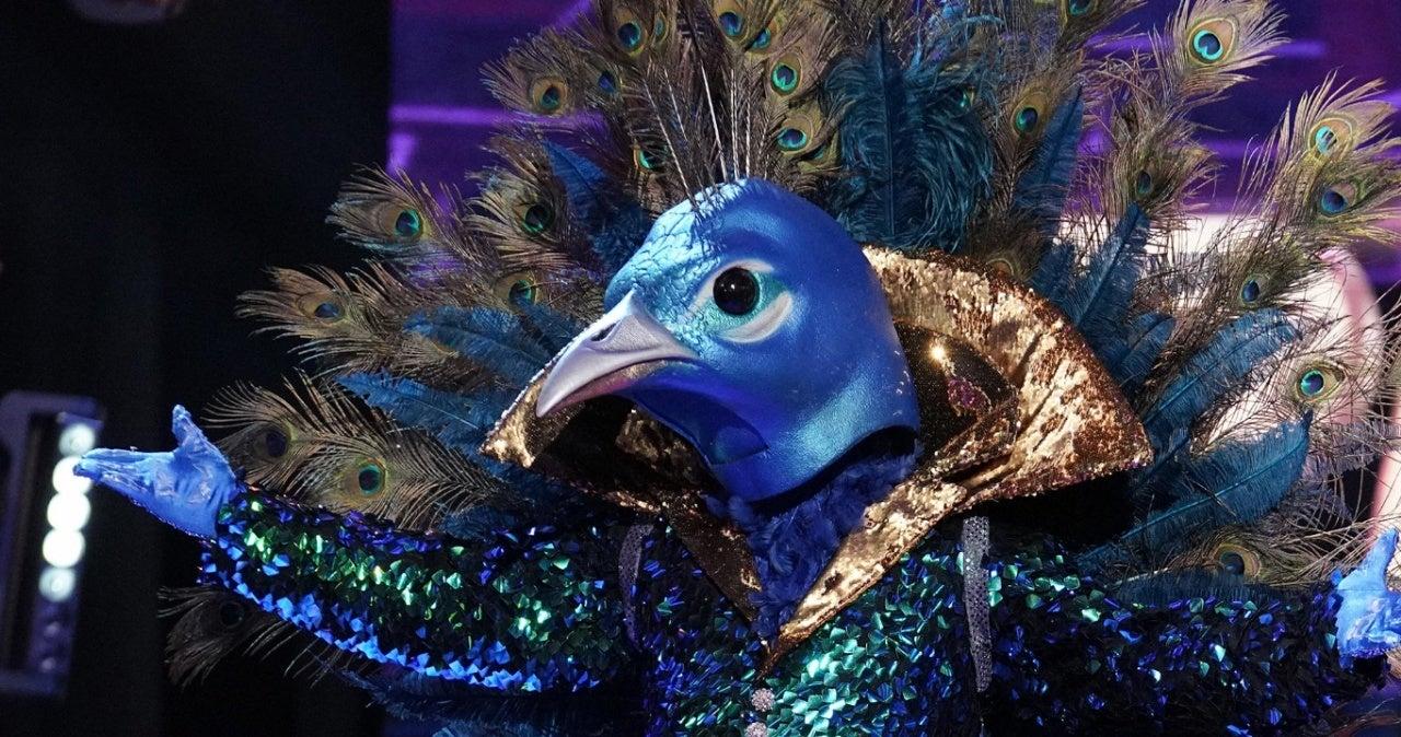 Masked SInger peacock