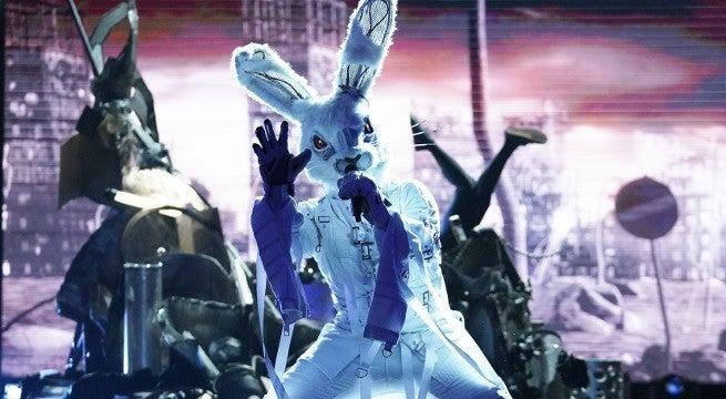 masked singer rabbit fox