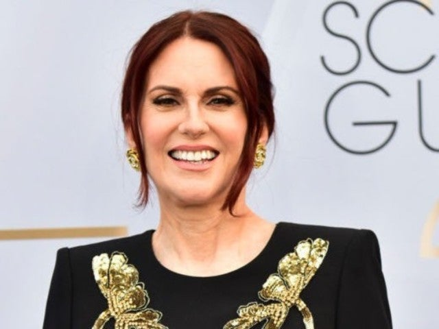Megan Mullally Purchased Her SAG Awards Red Carpet Dress Online