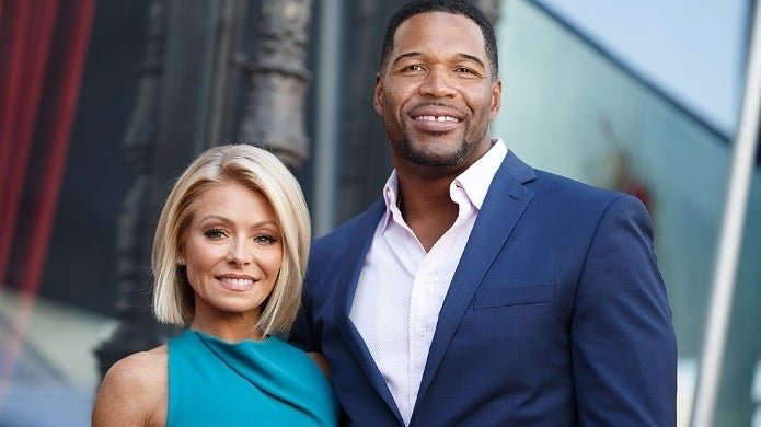 michael strahan kelly ripa getty images