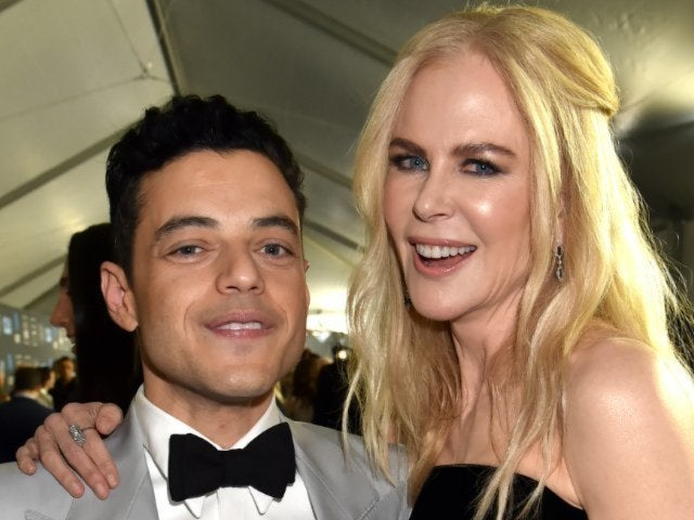 Nicole Kidman Reacts to Viral Rami Malek Interaction at the Golden Globes