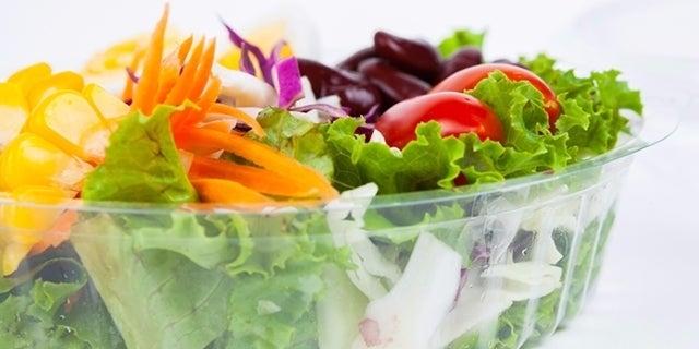 prepackaged salad