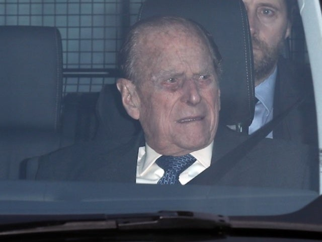 Prince Philip Appears to Drive Without Seat Belt 2 Days After Car Accident