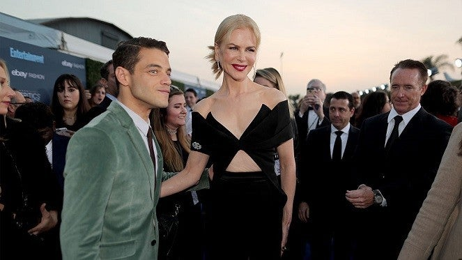 rami-malek-nicole-kidman-golden-globes-getty