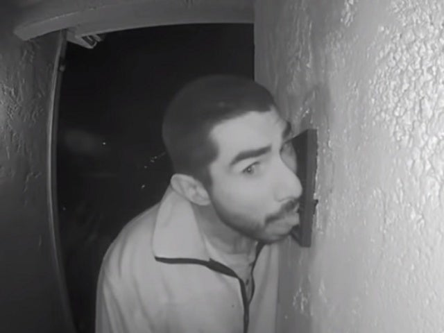 Ring Camera Catches Trespasser Licking Doorbell for 3 Hours