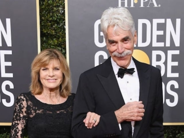 Golden Globes: Sam Elliott Steps out With Wife Katharine Ross for Red Carpet