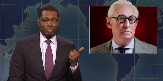saturday-night-live-weekend-update-michael-che-roger-stone-snl