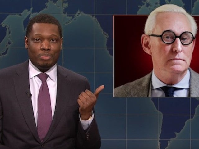 'SNL' Ridicules Indicted Trump Adviser Roger Stone During 'Weekend Update'