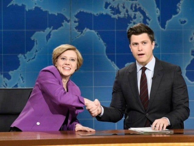 'SNL' Skewers Elizabeth Warren's 2020 Presidential Run on 'Weekend Update'