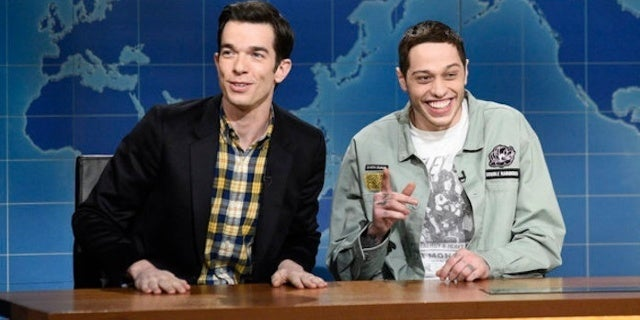 'SNL': Pete Davidson Addresses Social Media Scare During 'Weekend Update' With John Mulaney
