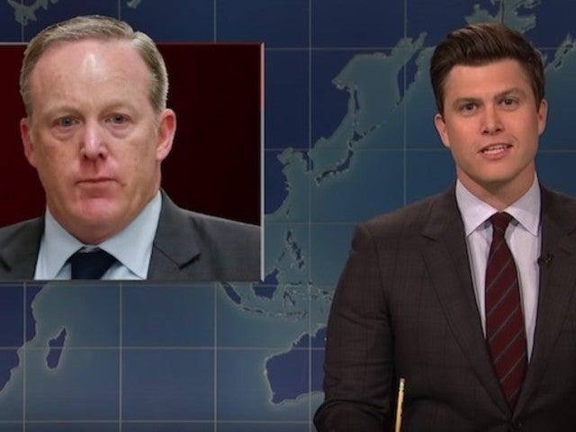 'SNL' Picks Sean Spicer for 'Masked Singer' Poodle in 'Celebrity Big Brother' Joke