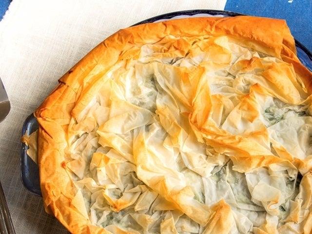 Recipe: Pie-Style Spanakopita