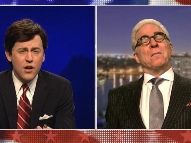 'SNL' Welcomes Steve Martin as Roger Stone in Tucker Carlson Parody During Cold Open