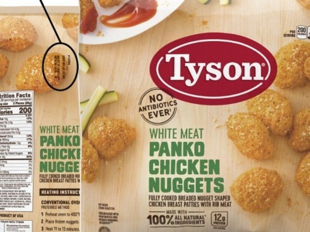 Tyson Foods Recall More Than 36,000 Pounds of Chicken Nuggets Due to Rubber Contamination