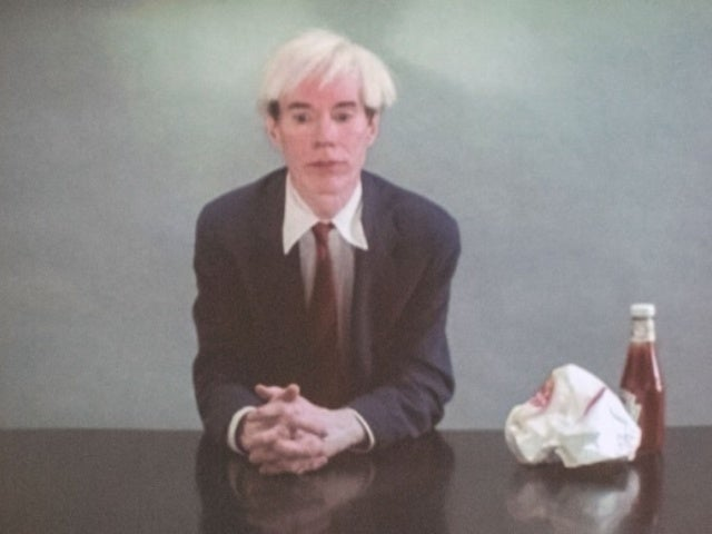 Burger King: Watch Andy Warhol Eat a Whopper in Classic Film