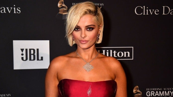 bebe rexha grammys getty images