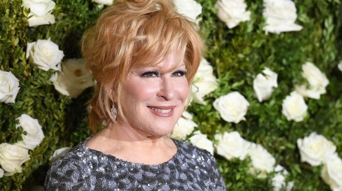 bette midler 2017 getty images