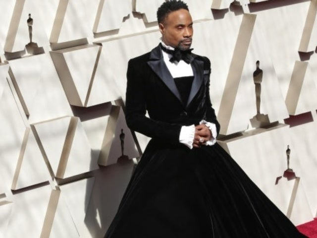 Oscars 2019: 'Pose' Star Billy Porter Rocks a Tuxedo-Gown on Academy Awards Red Carpet