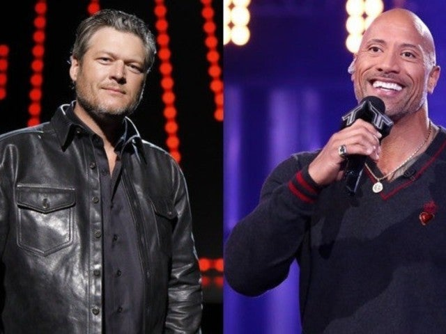 Blake Shelton and Dwayne 'The Rock' Johnson Cut up on Twitter Ahead of Elvis Special