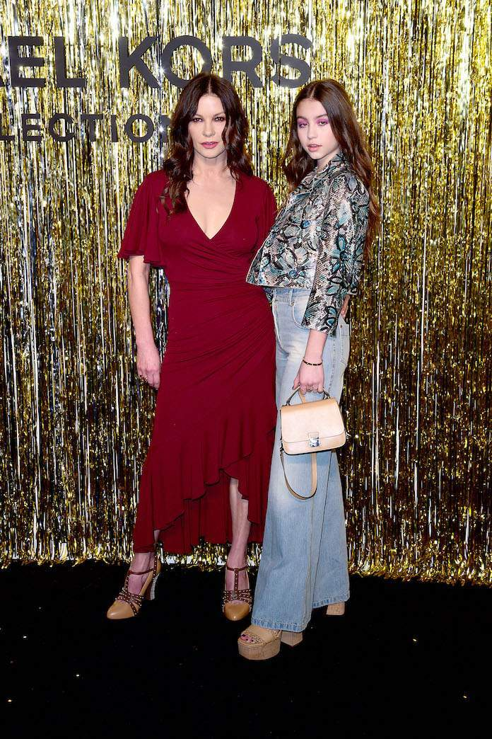 Catherine Zeta Jones Makes Rare Appearance With Daughter