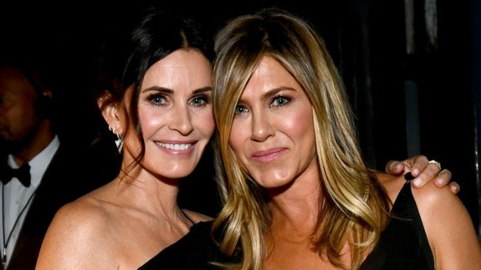 courteney cox jennifer aniston Emma McIntyre