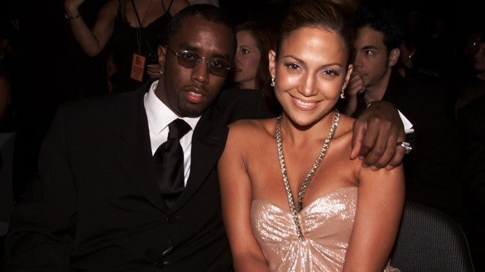 diddy jennifer lopez getty images