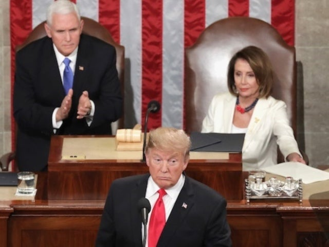 State of the Union: Chuck Woolery, Ex 'Wheel of Fortune' Host, Blasts Nancy Pelosi Not Standing for Donald Trump