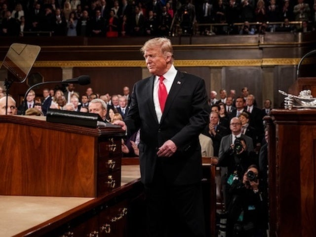 State of the Union 2019: President Donald Trump's Crooked Tie Draws Focus From Start