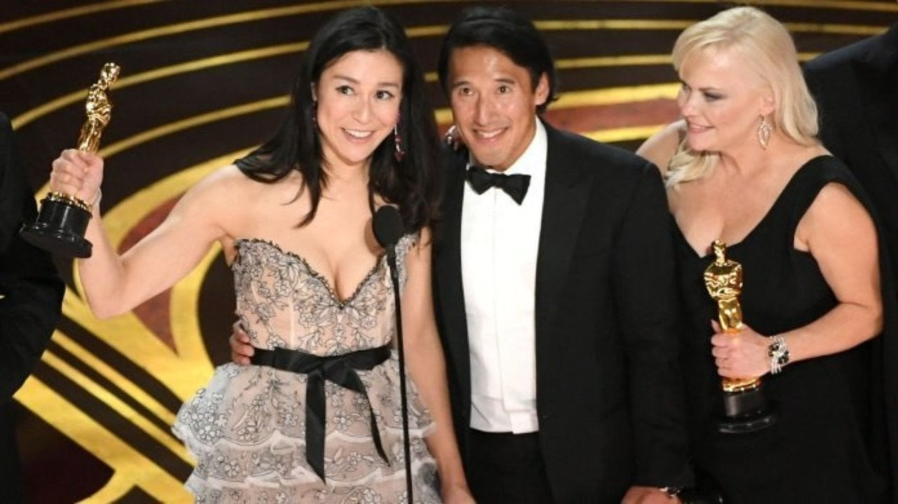 61d217639 Oscars 2019: 'Free Solo' Filmmakers Drop Curse and Get Bleeped While ...