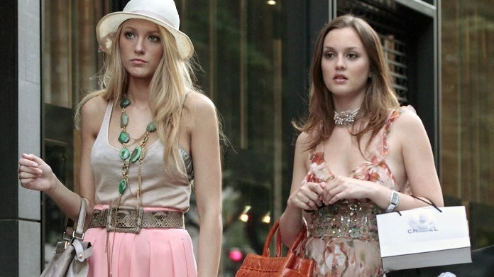 gossip girl leighton meester blake lively the cw