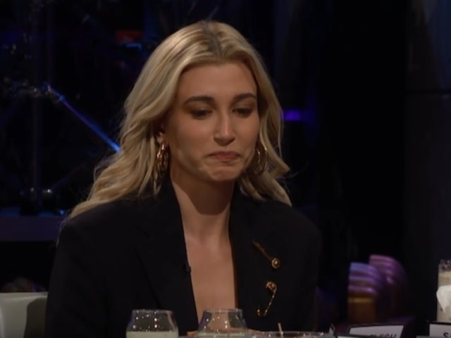 Hailey Baldwin Eats Meat Jelly to Avoid Answering a Question About Justin Bieber's Looks