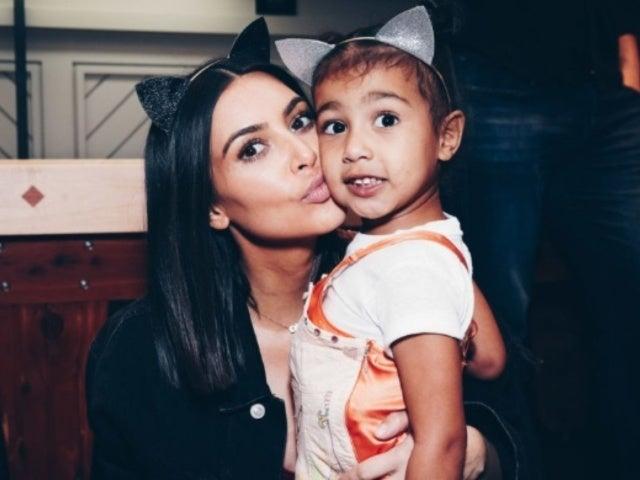 Kim Kardashian Sets the Record Straight on North West Having a Boyfriend