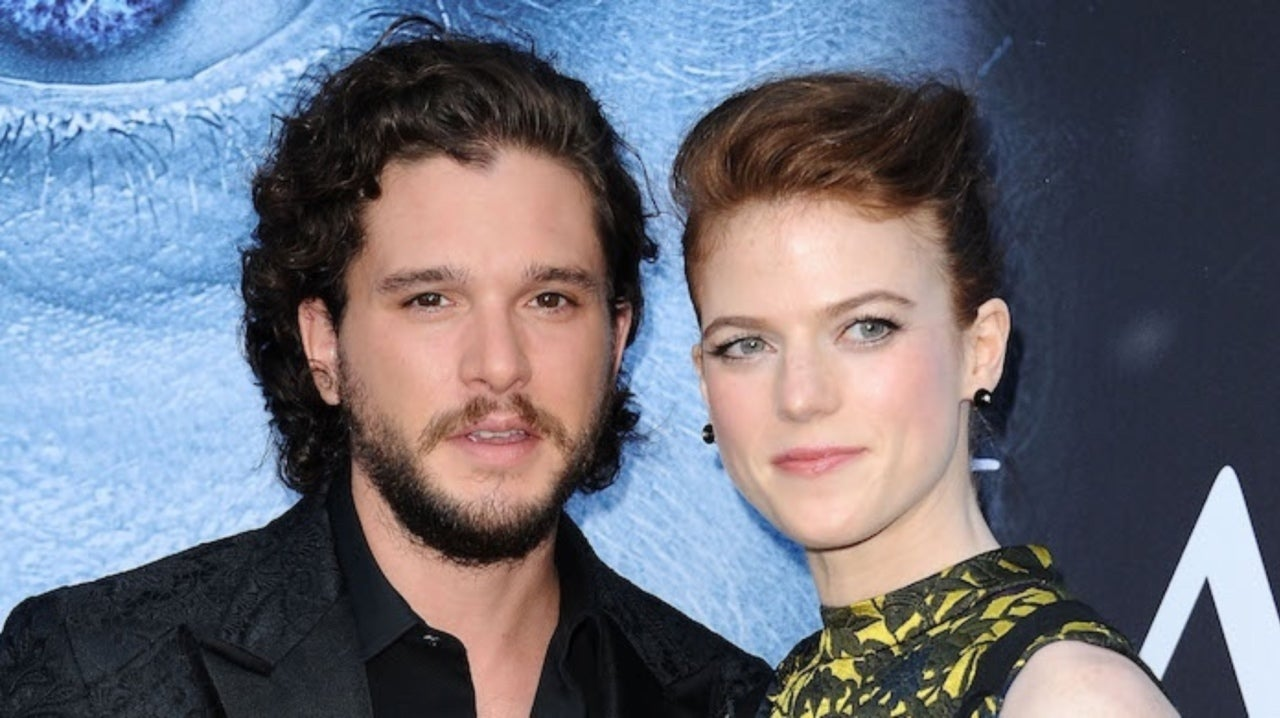 'Game of Thrones' Stars Kit Harington and Rose Leslie Head out on Stroll With Newborn Son in London.jpg