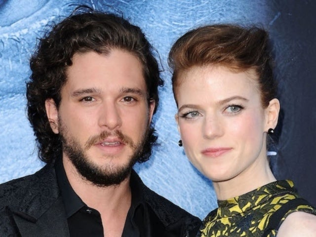 'Game of Thrones' Star Kit Harington Spotted With Rose Leslie on Rare Public Date