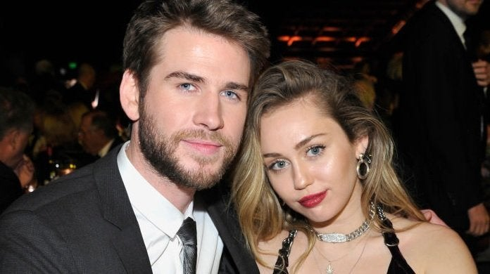 liam hemsworth miley cyrus getty images
