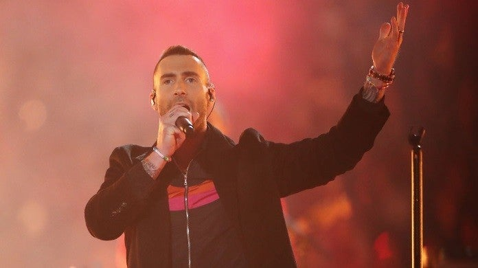 maroon 5 adam levine super bowl halftime show getty images