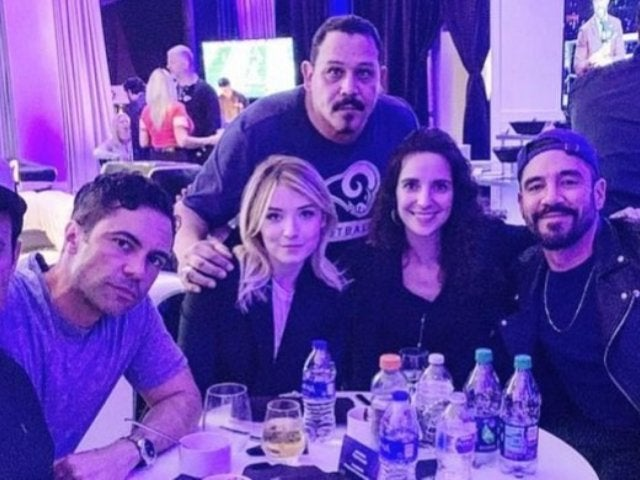 'Mayans M.C.': See How Cast Members Celebrated Super Bowl 53