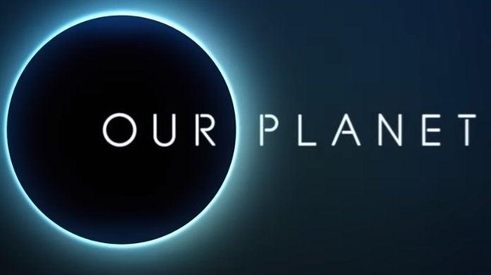 our planet netflix super bowl logo