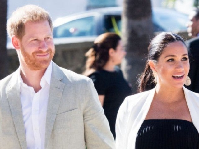 Prince Harry Jokes About Baby With Meghan Markle: 'Is It Mine?'