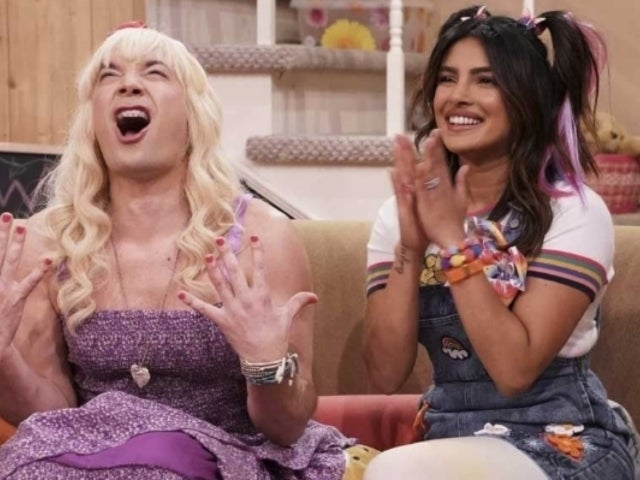 Priyanka Chopra Gets Silly With Jimmy Fallon in 'Ew' Sketch Gushing Over Nick Jonas
