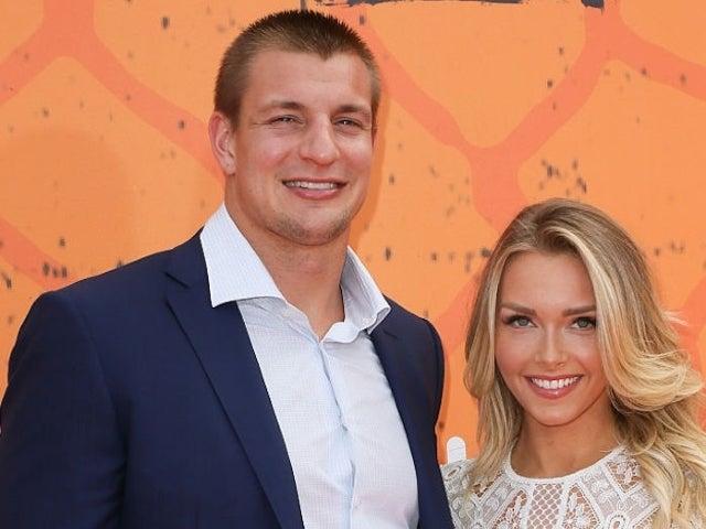 Rob Gronkowski's Girlfriend Camille Kostek Cheers Him on in Super Bowl Swimsuit Shot