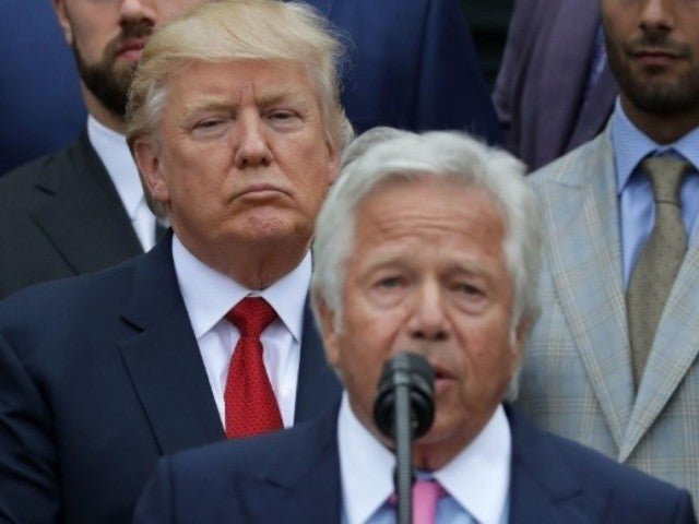 Robert Kraft: President Donald Trump Reacts to Charges Against New England Patriots Owner