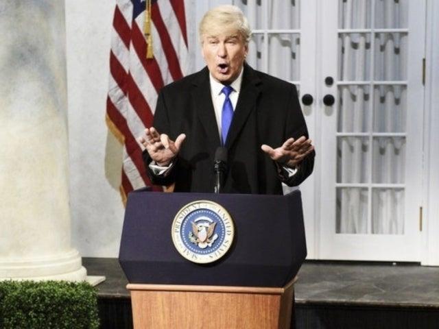 'SNL': Alec Baldwin Hits Back at President Donald Trump's Latest Criticism