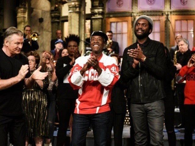 'SNL' Host Don Cheadle Blasts Donald Trump With Subtle Attire Choice