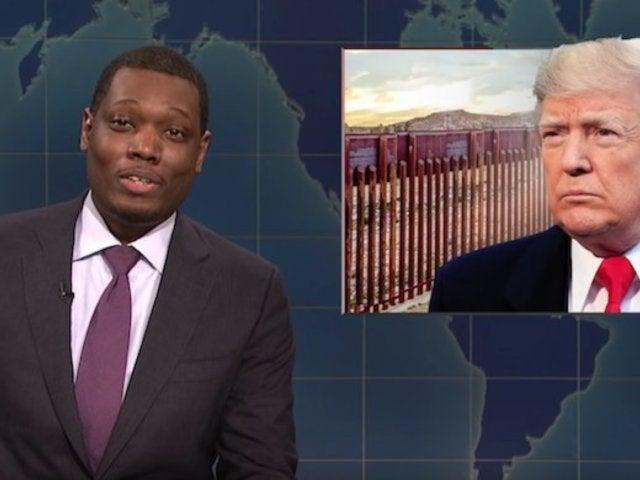 'SNL': 'Weekend Update' Skewers President Donald Trump's Border Wall