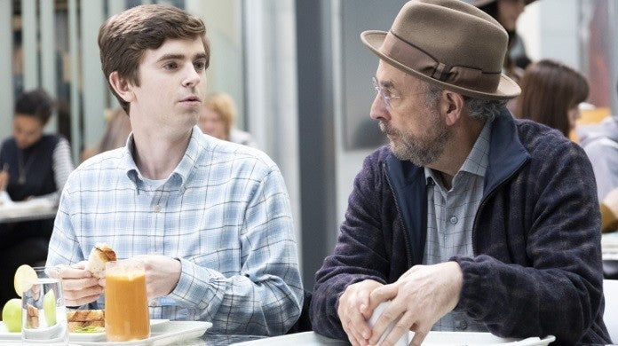 the good doctor shaun glassman faces abc
