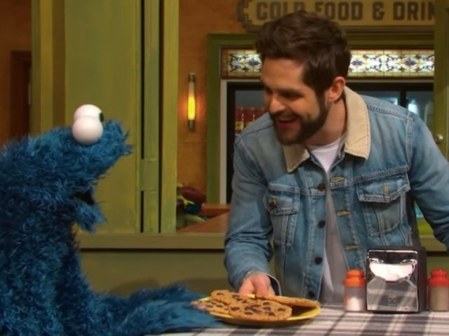 Thomas Rhett Debuts New Song With the 'Sesame Street' Gang