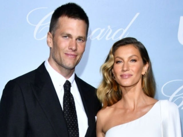 Tom Brady and Wife Gisele Bundchen Share Steamy Kiss During Beach Vacation